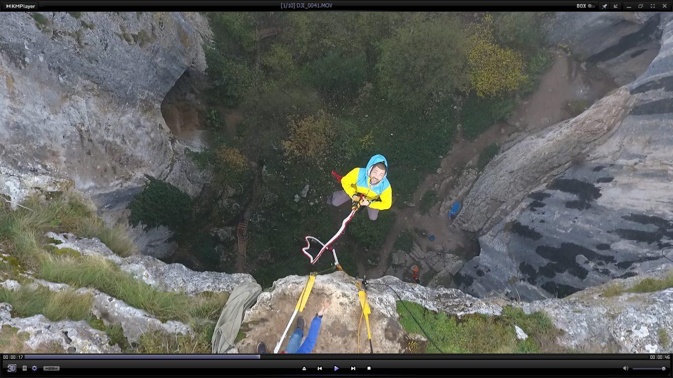 11 март -Бънджи скокове на Проходна пещера