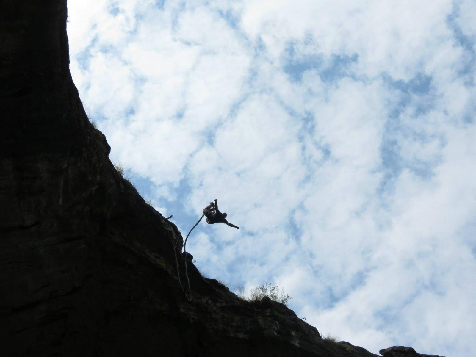 29-ти юли: Бънджи скокове на Проходна пещера