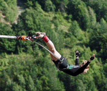 11-ти април - Бънджи скокове на Клисура