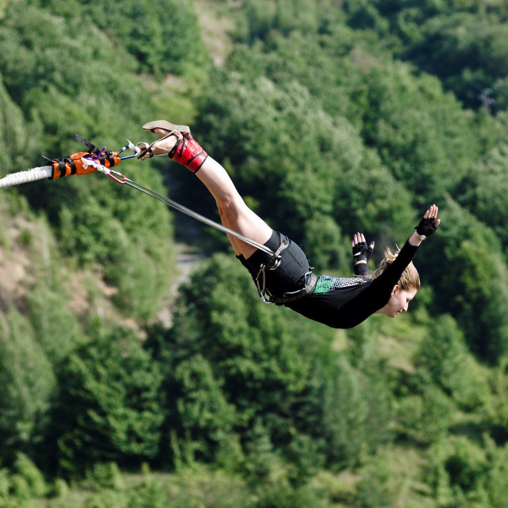 13-ти юни - Бънджи скокове на Клисура